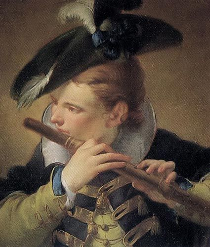 Giovanni Battista Tiepolo - Der Pfeifer