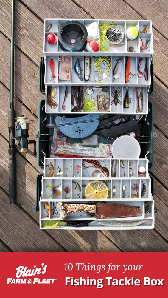 Get these 10 must-have things for your Fishing Tackle Box