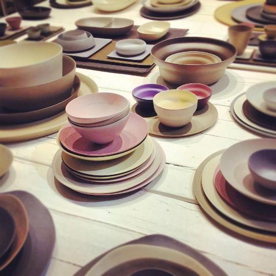 Rina Menardi ceramics at #salone