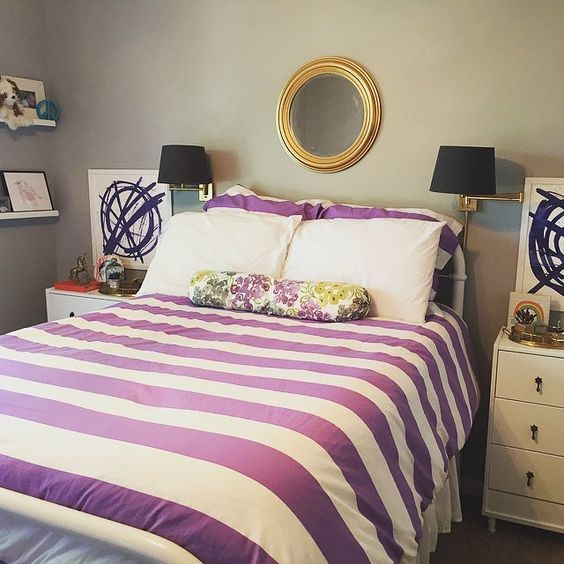 adorable pbteen bedroom #purpleisthenewblack