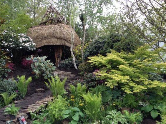Furzey garden taking shape at #rhschelsea