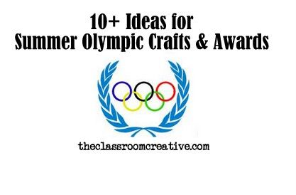 summer olympic crafts and award ideas for kids