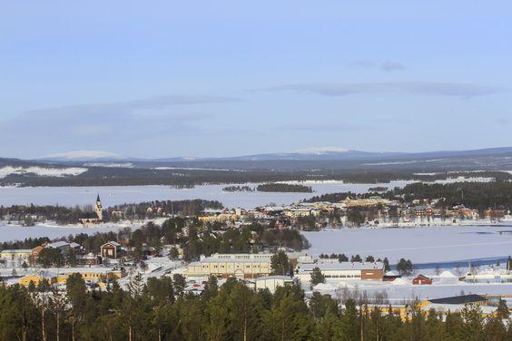 #LaplandIceDriving #LaponieIceDriving #Greensky #ArticCircle #WinterDriving #SnowyLandscape #Sweden Crédit Photo Félix Macias pour LID