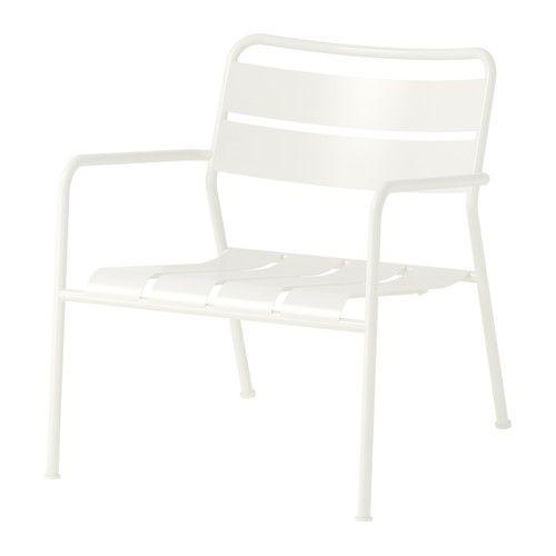 ROXÖ Fauteuil  blanc  IKEA  ☼ SUMMER ☼  Pinterest