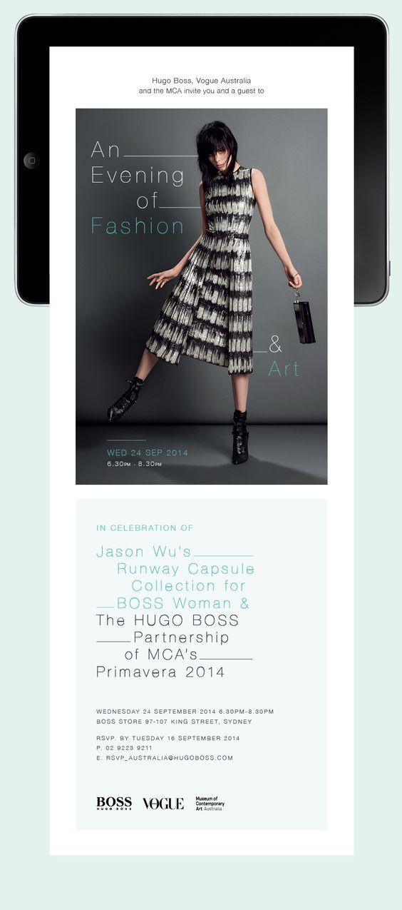Hugo Boss : Jessica Dimcevski