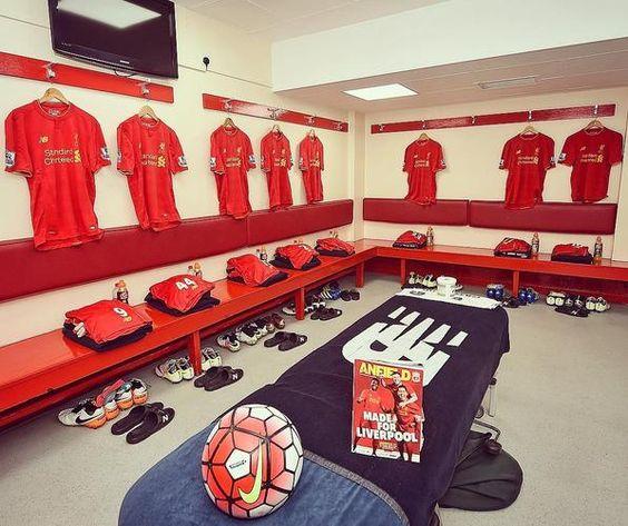 Liverpool FC Changeroom