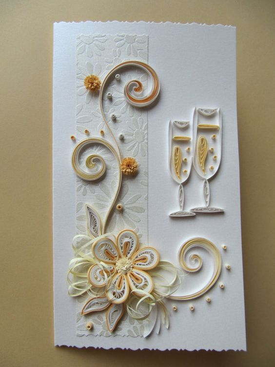 Quilling  Wedding and ...