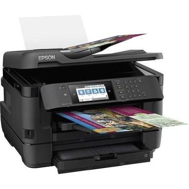 Epson Workforce Wf 7720 Inkjet Multifunction Printer Color