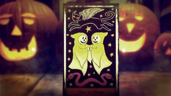 #Halloweenparty 2016 #Halloween mit '#Tarot: eine klasse Mischung :-)