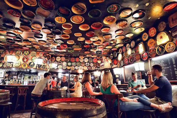 Delirium Café in Brussels Belgium