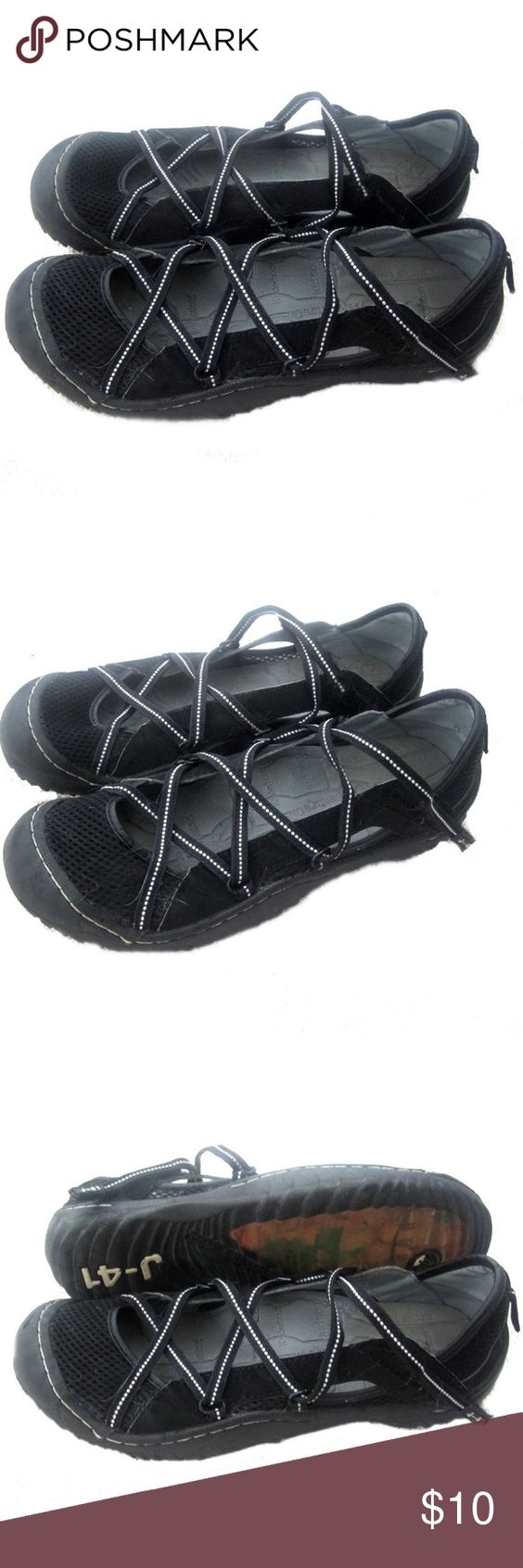 J-41 Jeep Sport Hiking Waterproof Shoes J-41 waterproof hiking shoes. Black color. Adjustable straps. Size 8. Jeep-engineered traction outdoor. Excellent pre-owned condition. J-41 Shoes Athletic Shoes