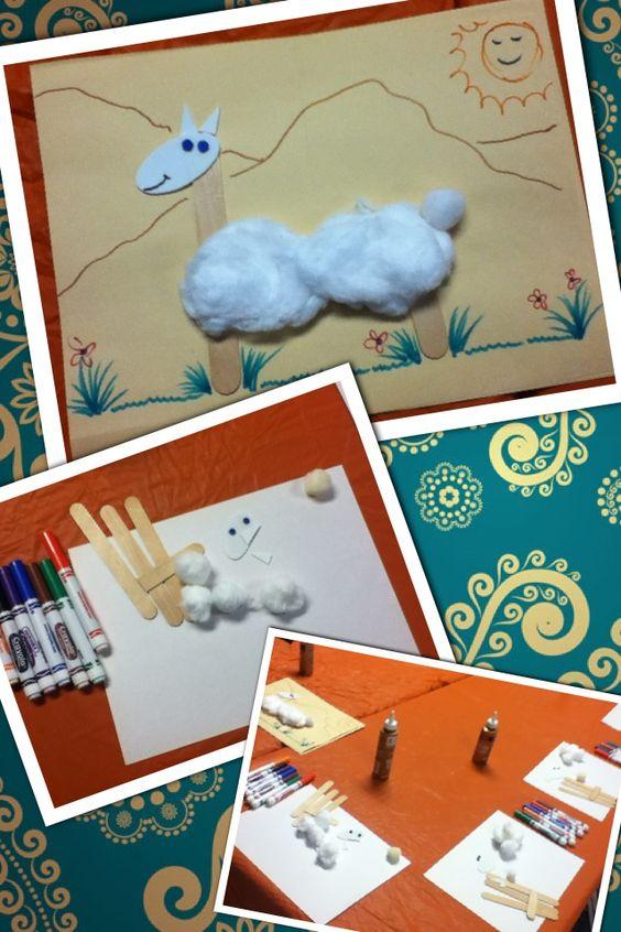 Llama Llama Preschool Crafts