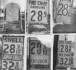 60's Gas Wars  That's  28 CENTS per gallon!