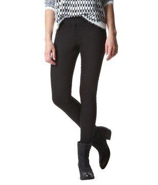 Leggings effetto pantalone
