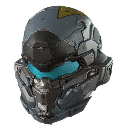 Halo 5: Guardians Spartan Jameson Locke Helmet Prop Replica ...