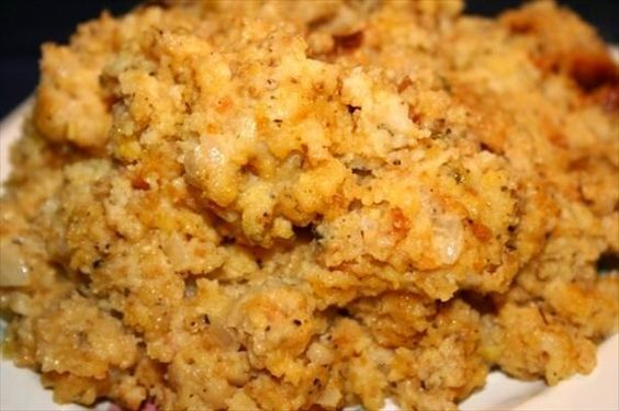 Crock Pot Cornbread Dressing -- made this one today!  It was completely awesome!  I did add a half can of corn (juice drained off).