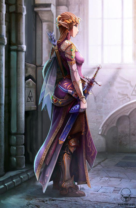 Zelda by Pertheseus, The Legend of Zelda.