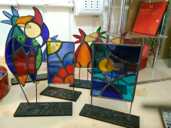 Steined glass atelier