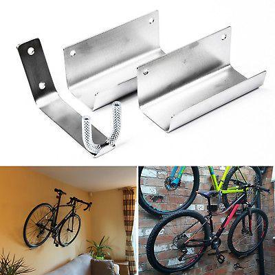 Bike Pedal Hook Wall Mount Bracket Hanger Tire Holder Storage Bicycle Rack