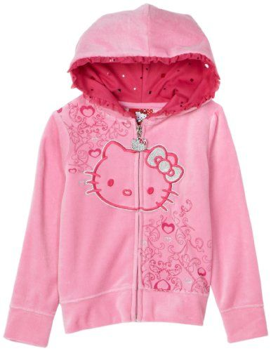 Hello Kitty Girls 2-6x Hoodie