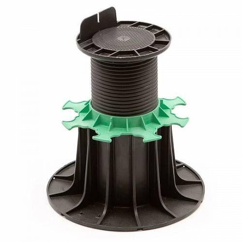 Adjustable Pedestal 140 230 Mm For Wooden Deck Jouplast Packaging Box Of 40 Wooden Decks Wooden Terrace Pedestal