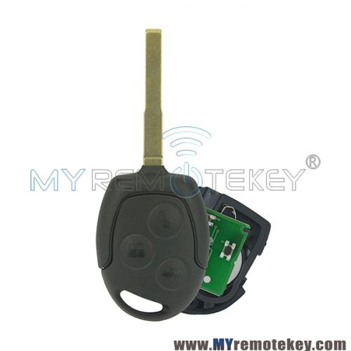 Remote Key Hu101 For Ford Focus C Max S Max Connect Fiesta Fusion Galaxy 2006 2007 2008 2009 2010 Id63 433mhz 3 Button Ford Focus Ford Fiesta
