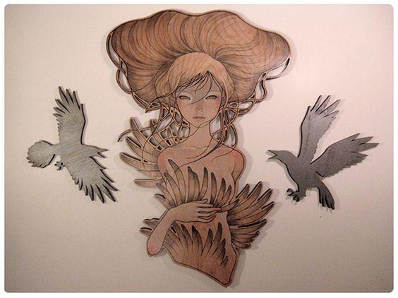 Resultado de imagem para audrey kawasaki wood
