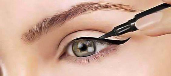 Fabriquer un eye-liner naturel et non toxique en moins de 5 minutes. Super couvrant et durant toute la journée. Vous n'achèteraient plus d'eye-liner…