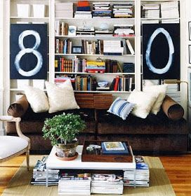 ROOMS: Decorating With Books