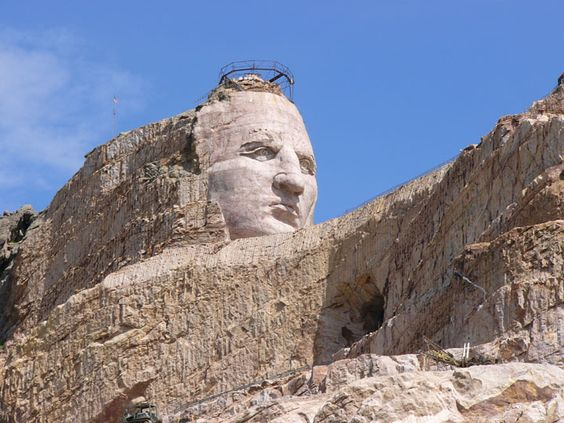 Crazy Horse Monument...gonna be amazing when it's finished..amazing already!
