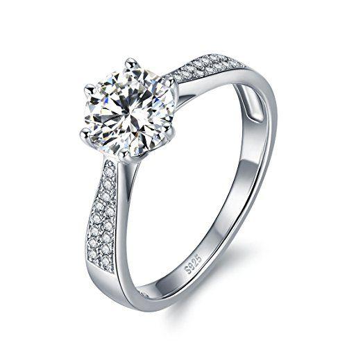bague solitaire diamant swarovski