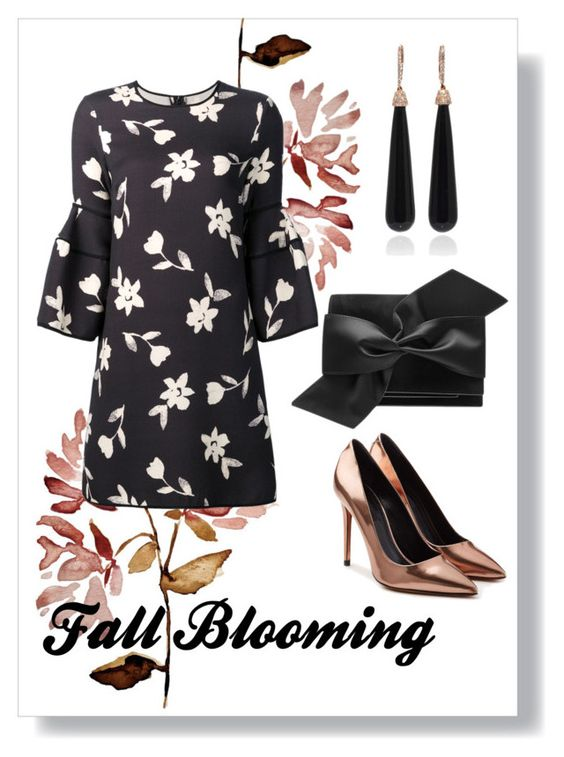 """Blooming InThe Fall."" by findself ❤ liked on Polyvore featuring Carolina Herrera, Alexander Wang, Victoria Beckham and SUSAN FOSTER"