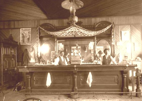 Western Bar Design Design From Historic Record