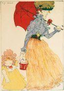Kunstwerk door Henri Evenepoel, EVENEPOEL AU SQUARE, gemaakt van kleur litho op Japan