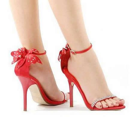 Beautiful Red Shoes High Heels