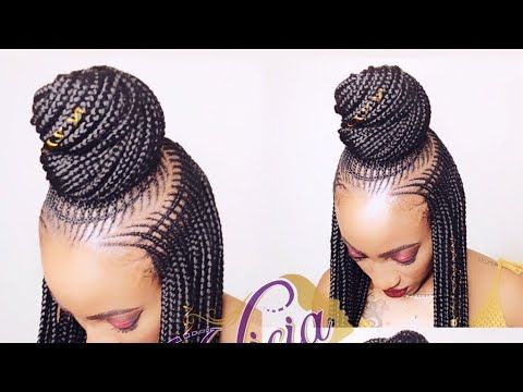 13 Ket Braids Web Version Youtube Hair Styles Natural Hair Styles Cool Braid Hairstyles
