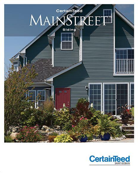 MainStreet™ - Vinyl Siding Collection - Horizontal Siding - Vinyl Siding u0026  Polymer Shakes -