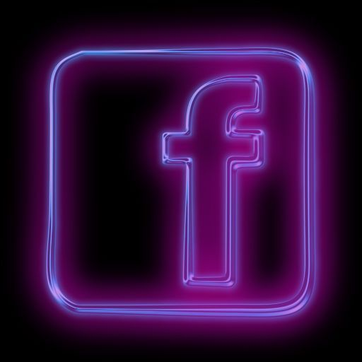 Facebook Icon Aesthetic Purple And Black Google Search Wallpaper Iphone Neon Facebook Icons Snapchat Icon