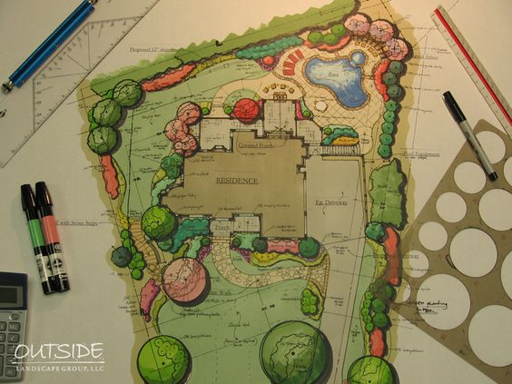 Landscape Design & Architecture in Alpharetta, Ga. | Outside Landscape Group, LLC