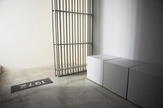 The Deeper they bury me...Rigo 23 Installation. In the Jail House Now