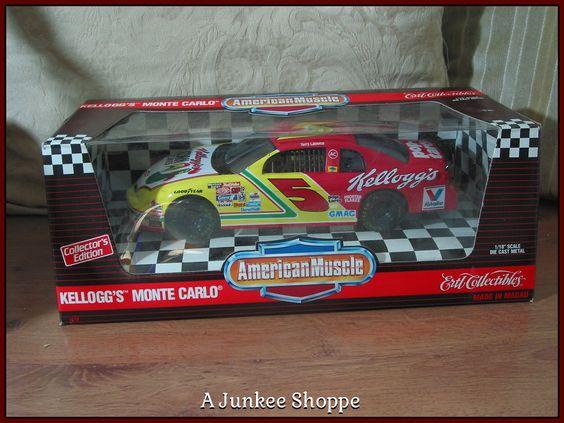 TERRY LABONTE 1995 Kellogg's  ERTL 1/18th American Muscle Nascar Diecast Car Junk 994  http://ajunkeeshoppe.blogspot.com/