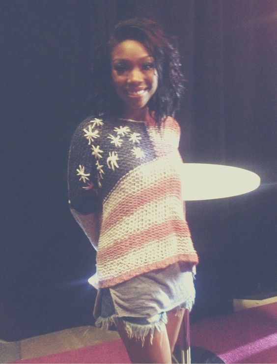 Brandy backstage at the Convention Center during #ESSENCEFest 2013 in New Orleans
