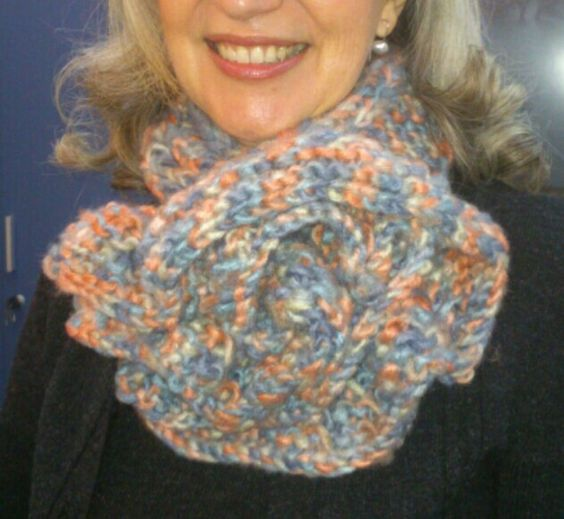 Cuello tricotado