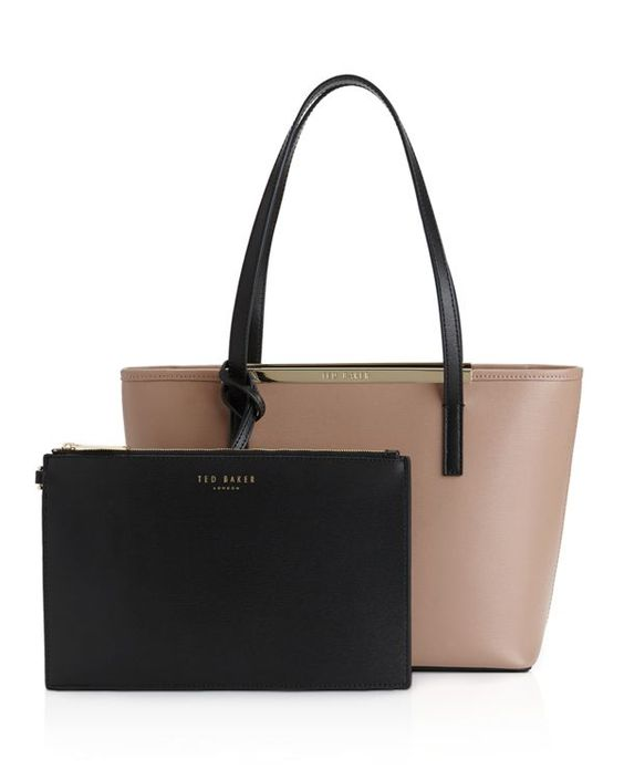 Ted Baker Conney Small Color Block Tote