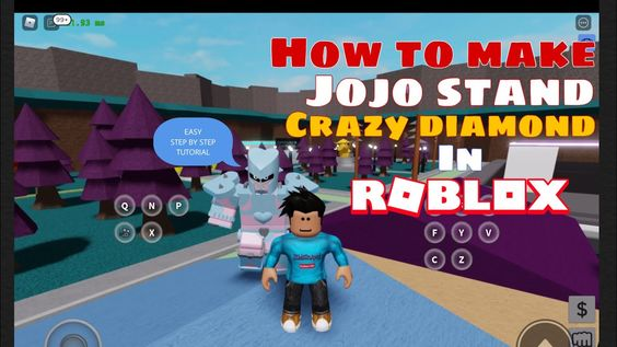 How To Create Crazy Diamond Stand From Anime Jojo S Alternate Universe F In 2020 Jojo Stands Roblox Jojo