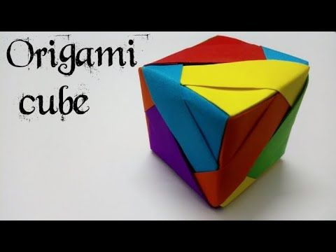 HOW TO MAKE ORIGAMI INFINITY CUBE - CRAZY ABOUT DIY - YouTube ... | 360x480