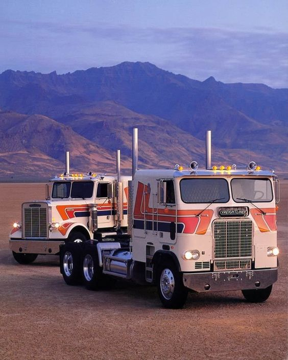 15 years the 70s and mercedes benz trucks on pinterest for Freightliner mercedes benz