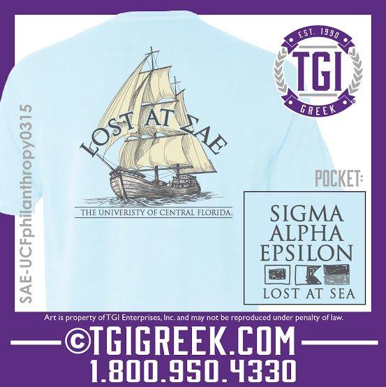 TGI Greek - Sigma Alpha Epsilon - Philanthropy - Comfort Colors - Greek T-shirts  #tgigreek #sigmaalphaepsilon