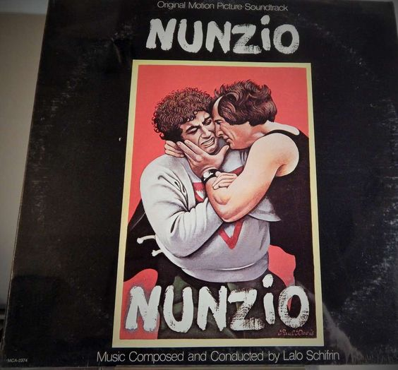 "NUNZIO  12"" VINYL LP MINT ORIGINAL SOUNDTRACK (1978, LALO SCHIFRIN) RARE CULT COLLECTIBLE ITEM"