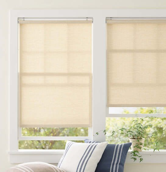 Ridge Cordless Roller Natural Shade Pine Cone Hill In 2020 Roller Shades Window Coverings Indoor Outdoor Curtains